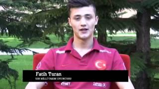 U20 Turkiye Milli Tak M Oyuncusu Fatih Turan 39 Dan Mesaj