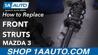 How to Replace Front Struts 04-13 Mazda 3