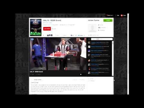 Arm Wrestler / Bodybuilder Chris Chandler shows off at UAL IV in Vegas (Backflip Fail)