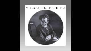 Tenore Miguel Fleta Aida 34 Se Quel Guerrier Io Fossi Celeste Aida 1927