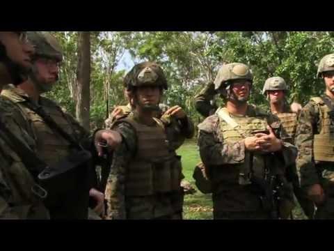 Advanced Urban Combat Training - Royal Australian Regiment and US Marines