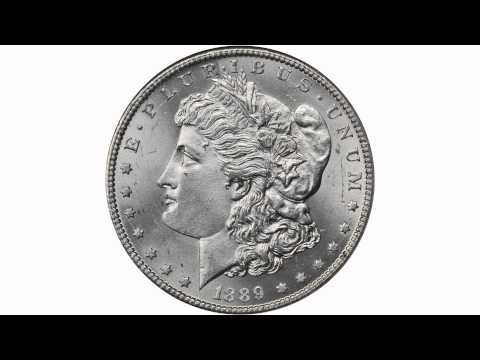Lot 11066: 1889-CC Morgan Silver Dollar. MS-65 (NGC).