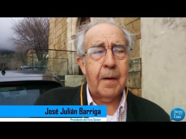 José Julián Barriga nos cuenta qué es el Club Sénior Extremadura y qué busca con sus encuentros