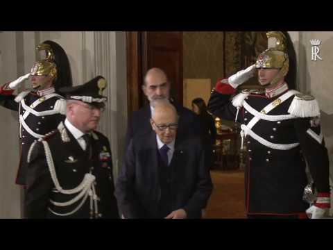 Presidente Emerito della Repubblica Sen. Dott. Giorgio Napolitano