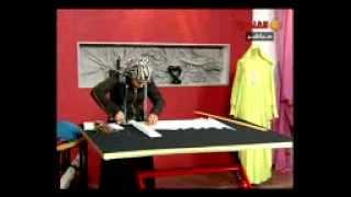 طريقة قص و خياطة فيست للاطفال بمناسبة العيد. الحلقة (3) 19-10-2012