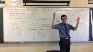 "Using the Second Derivative (3 of 5: Why the Points of Inflexion may not exist when f""(x) = 0)"