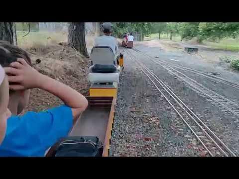 Детская железная дорога в США
