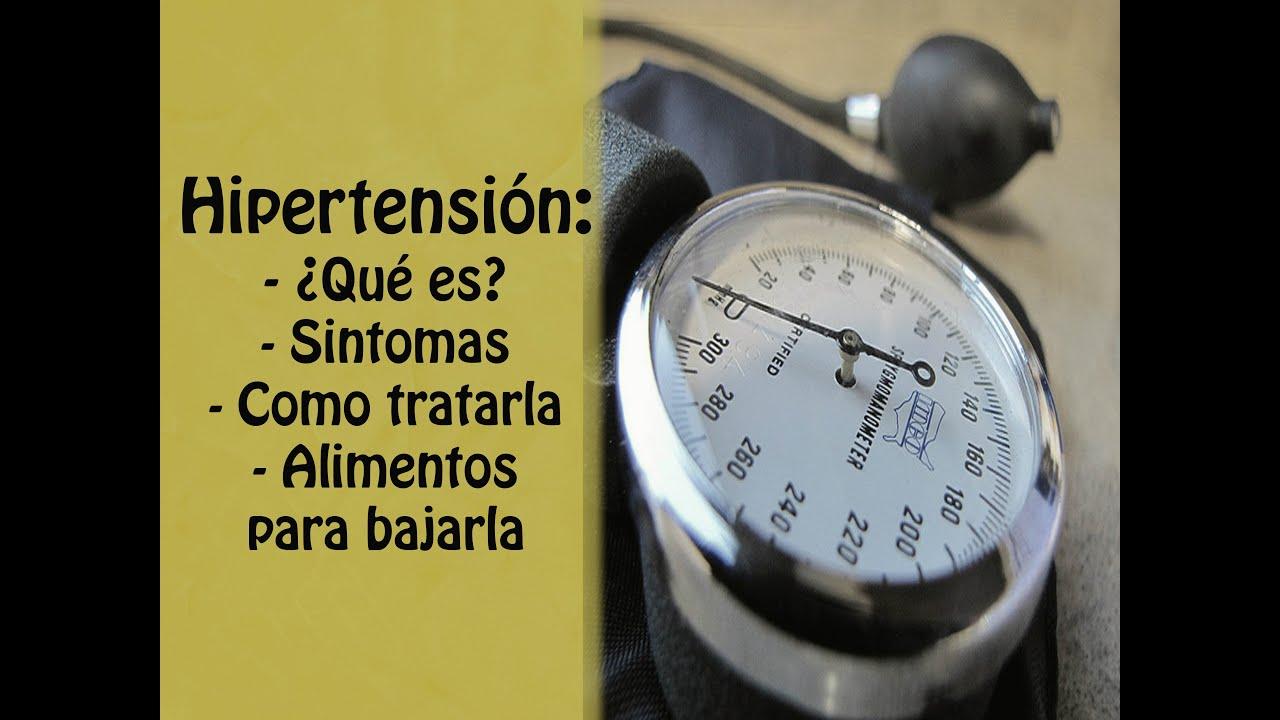 Hipertension qu es cuales son sus sintomas c mo bajarla alimentos para la hipertension - Alimentos para la hipertension alta ...