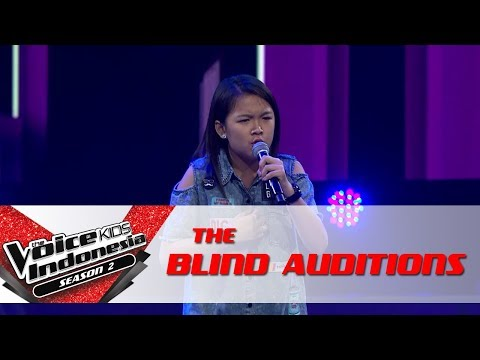 Clarissa 'No' | The Blind Auditions | The Voice Kids Indonesia Season 2 GlobalTV 2017
