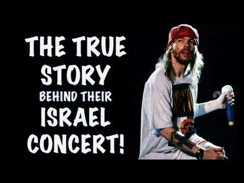 Guns N' Roses  The True Story Behind Their Tel Aviv,  Israel Concert! (2017)