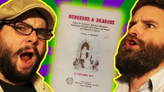 playing original dungeons and dragons the temple of fartamental evil