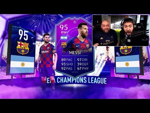 OMG I PACKED UCL MESSI!! FIFA 20