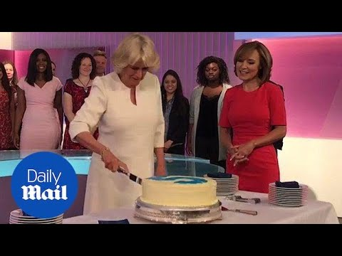 Camilla Duchess of Cornwall marks 21st anniversary of Channel 5 - Daily Mail