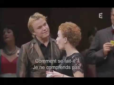 Jonas Kaufmann, Christine Schäfer - opening of Act 1 of La Traviata