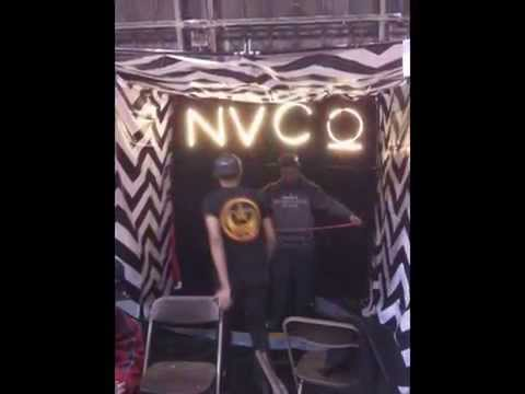 NVCO - Booth Set Up Process - New York Trade Fair 2014