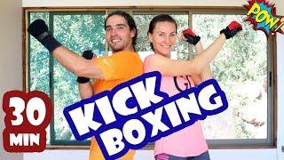 MEJOR CARDIO Kick Boxing MIX en 30 min   Rutina 1