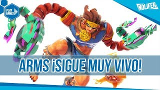 ARMS Misango ¡SIGUE MUY VIVO! ¡Nuevo Personaje Gratuito! / #NintendoSwitch #Arms #Switch thumbnail