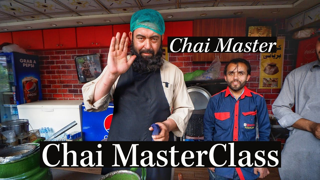 Pakistani CHAIWALA Teaches Me How to Make CHAI