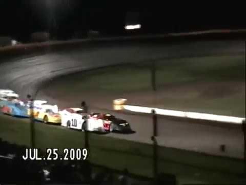 #T55 Adam Trewhitt -Roll Over- @ North Georgia Speedway