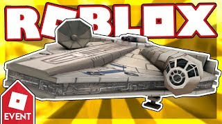 [EVENT] How to get the MILLENNIUM FALCON   Roblox