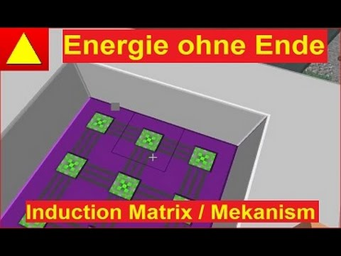 Induction Matrix Multiblock von Mekanism Minecraft Block Light Tutorial