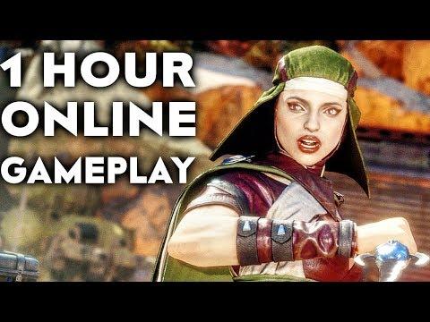 MORTAL KOMBAT 11 GAMEPLAY Online Beta 1 HOUR #2 (No Commentary) thumbnail