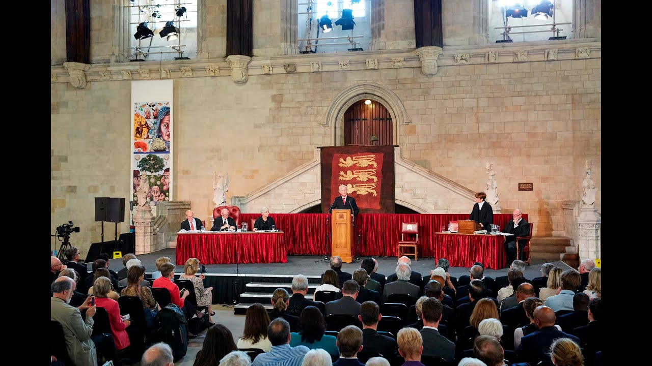 Download Treason? The trial of the Magna Carta barons: Westminster Hall, 31 July 2015