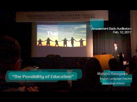 [60fps] 20170212 Presentation on Sado's Visit to Mt. Eden High School, Hayward CA
