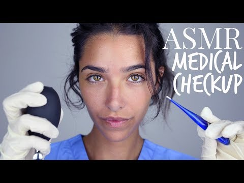 ASMR Medical Appointment (Gloves, Scalp Inspection, Ear Cleaning, Light Trigger..)