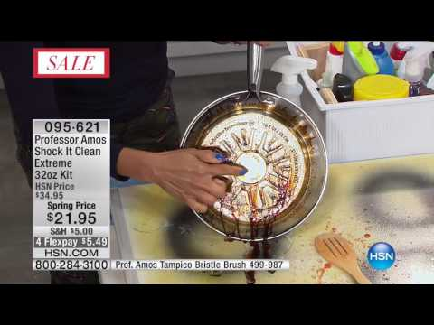 HSN | Cleaning Essentials featuring Professor Amos 02.18.2017 - 10 AM