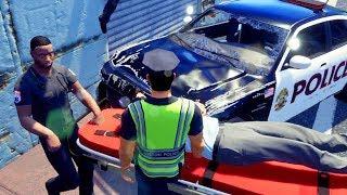 Priester begeht Fahrerflucht - Police Simulator Patrol Duty Gameplay German