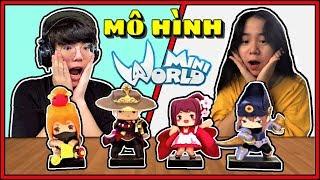 MINI WORLD: MÔ HÌNH 1K VS 1 TRIỆU   THỬ THÁCH THI ĐẤU NHẬN MÔ HÌNH GAME SIÊU ĐẸP CỦA RICH KID