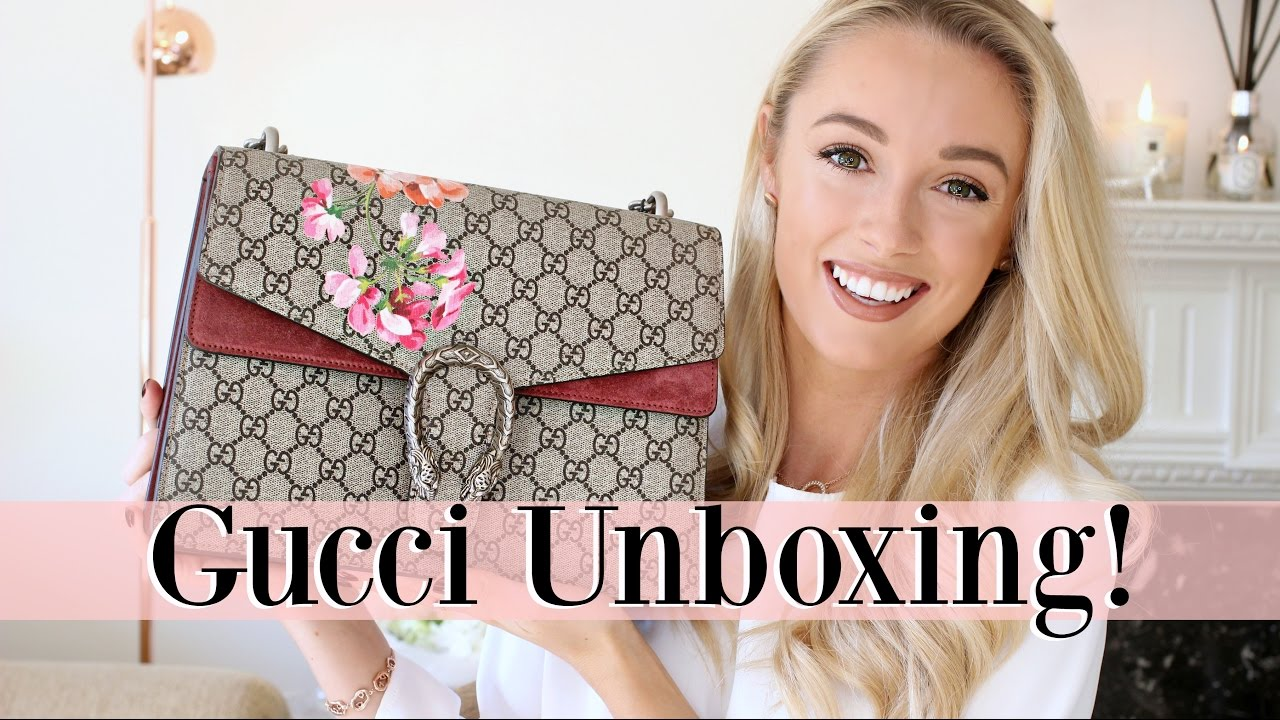 cfe3815a6 GUCCI DIONYSUS BLOOMS UNBOXING! | Fashion Mumblr - YouTube