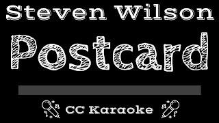 Steven Wilson • Postcard (CC) [Karaoke Instrumental Lyrics]