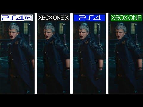 Devil May Cry 5   ONE X vs PS4 Pro vs ONE vs PS4   4K Graphics Comparison thumbnail