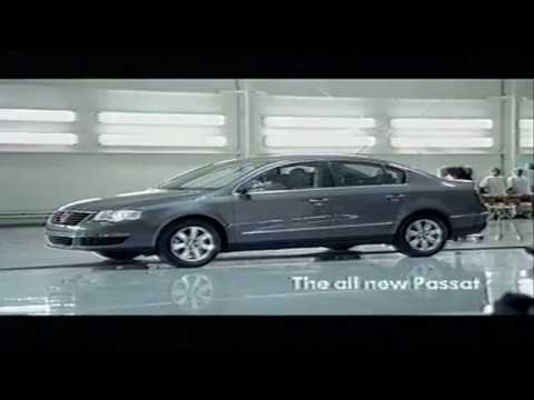 "Volkswagen (New) Passat commercial. ""Thank you very much"""