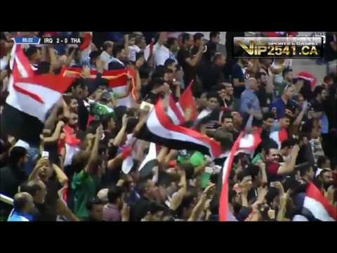 ไฮไลท์ อิรัก 4-0 ไทย ฟุตบอลโลก รอบคัดเลือก