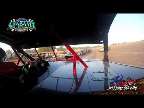 #56 Billy Roberson - Street Stock - 9-22-19 East Alabama Motor Speedway - In-Car Camera