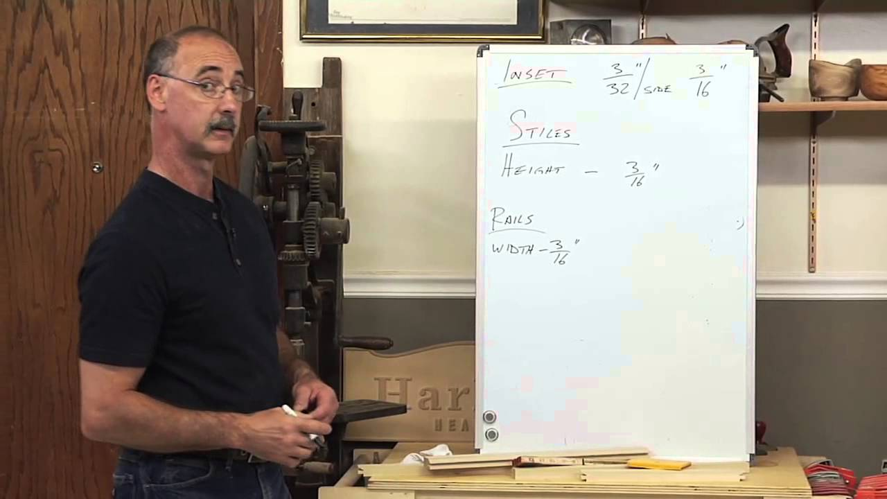 How To Calculate The Size Of Inset Cabinet Doors Youtube