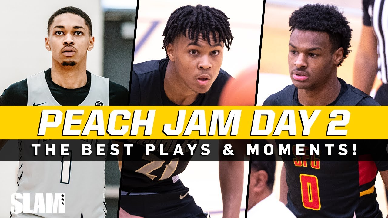 Download DJ Wagner, Bronny James, Dior Johnson, and More! 👀🔥 Peach Jam Day Two Top Plays!