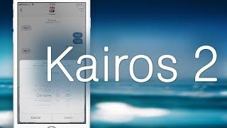 Kairos 2 — отправляем запланированные SMS / iMessage