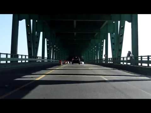 Maurice Tobin Bridge northbound