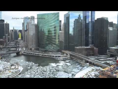 VIDEO: Chicago River Fills With Ice In Time-Lapse Video