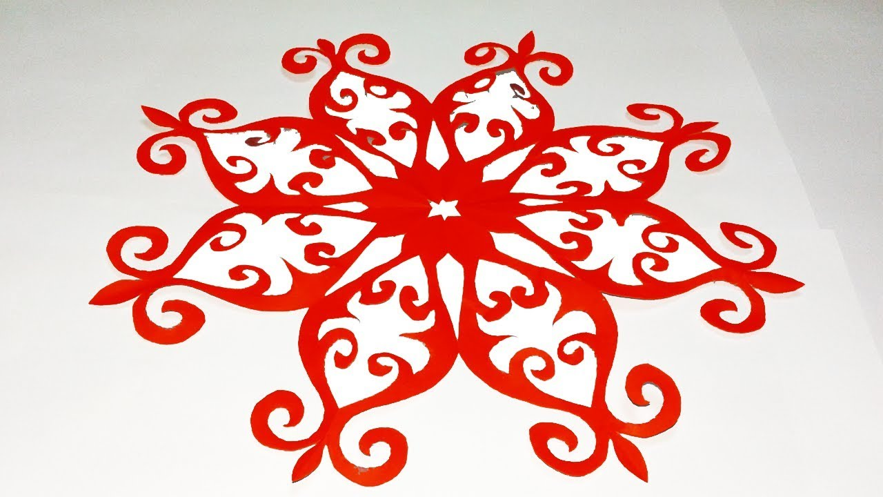 Diy Paper Cuttinghow To Make Easy Paper Cutting Designs Flowereasy