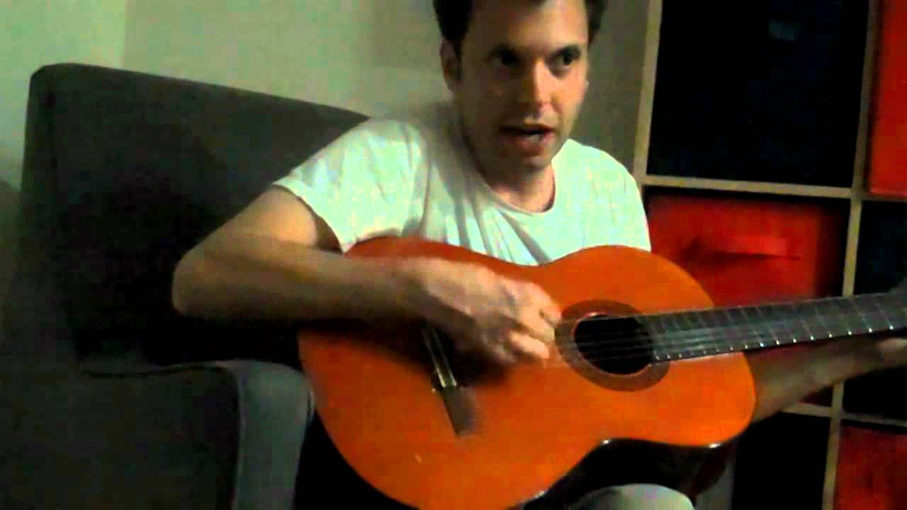 adam playing an out of tune guitar with missing strings and still sounds good youtube. Black Bedroom Furniture Sets. Home Design Ideas
