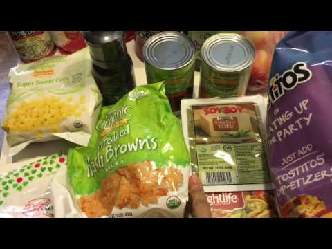 Aldi/ Wegmans Large Family Vegan Haul