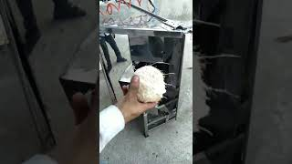 Coconut polishing machine - Tender coconut polishing machine - Green coconut polishing machine