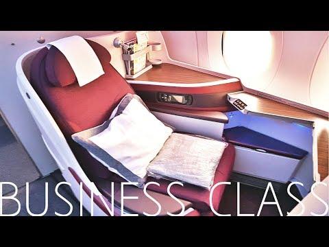 Qatar Airways BUSINESS CLASS Doha to Tokyo|A350
