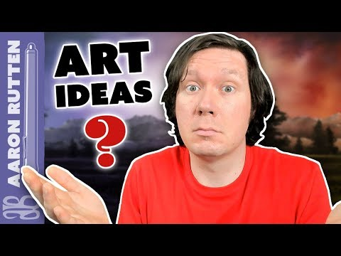 How To Get Amazing Art Ideas The Easy Way - Digital Artist Vlog