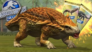 UNLOCKING THE NEW HYBRID ARMORMATA!!!    Jurassic World - The Game - Ep 470 HD